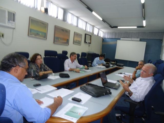 Reuniões administrativas marcam o início da semana na reitoria IFPB