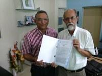 Santa Rita oficializa doação de terreno para o IFPB