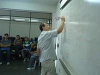 Servidores da reitoria e campi participam de treinamento sobre Contratos