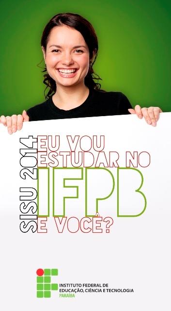 Sisu inscreve para cursos superiores do IFPB até sexta-feira (10)