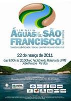 UFPB sedia seminário sobre transposição das águas do Rio São Francisco