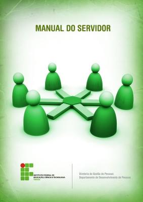 Nova capa Manual do Servidor